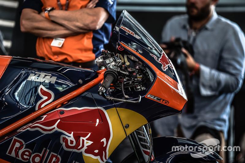 Das MotoGP-Bike von KTM, Detail