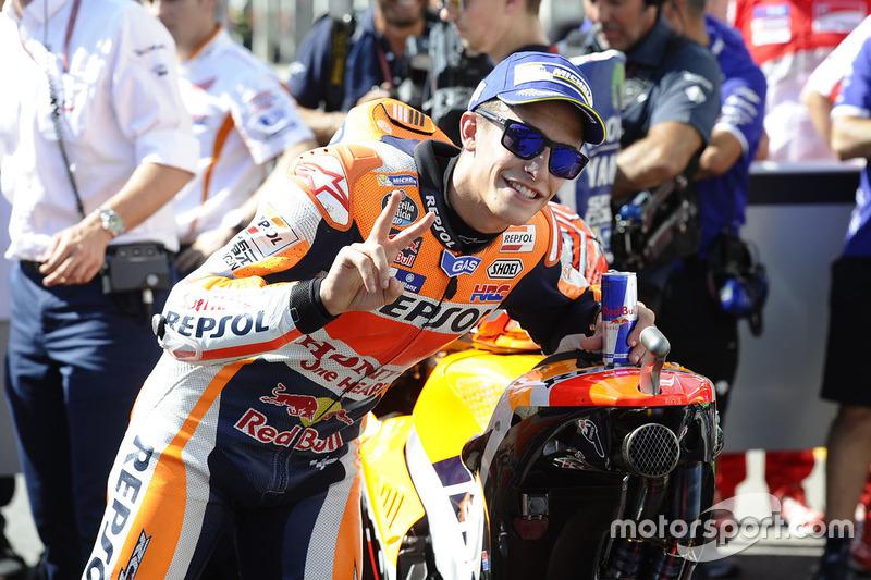 Poleman Marc Marquez, Repsol Honda Team