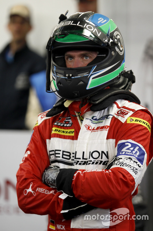 #12 Rebellion Racing Rebellion R-One AER: Nick Heidfeld