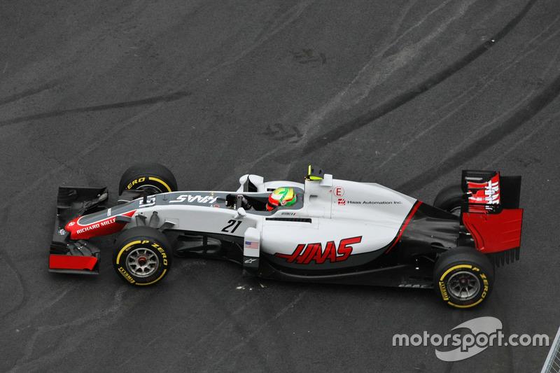 Esteban Gutiérrez, equipo de F1 de Haas VF-16 se sigue de largo