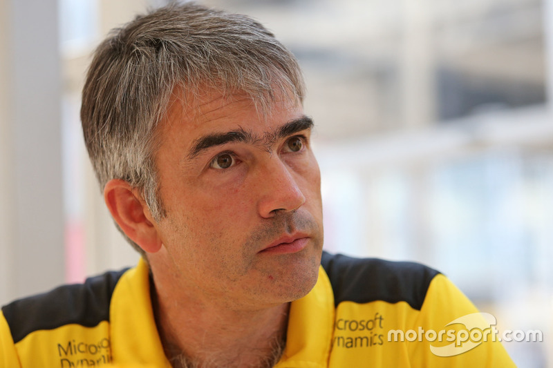 Nick Chester, Technical Director, Renault Sport F1 Team
