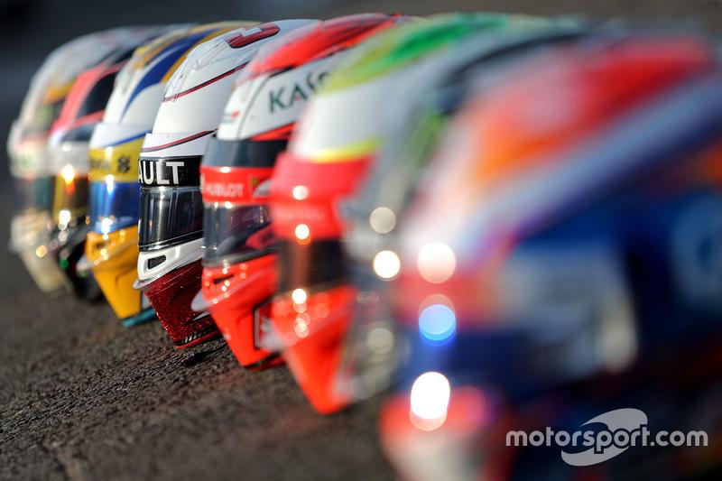 Caschi Bell: Kevin Magnussen, Renault Sport F1 Team