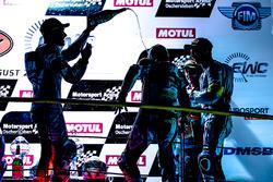 Podium: #94, GMT94 Yamaha, Yamaha: David Checa, Niccolo Canepa, Lucas Mahias