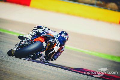 KTM Aragon testing