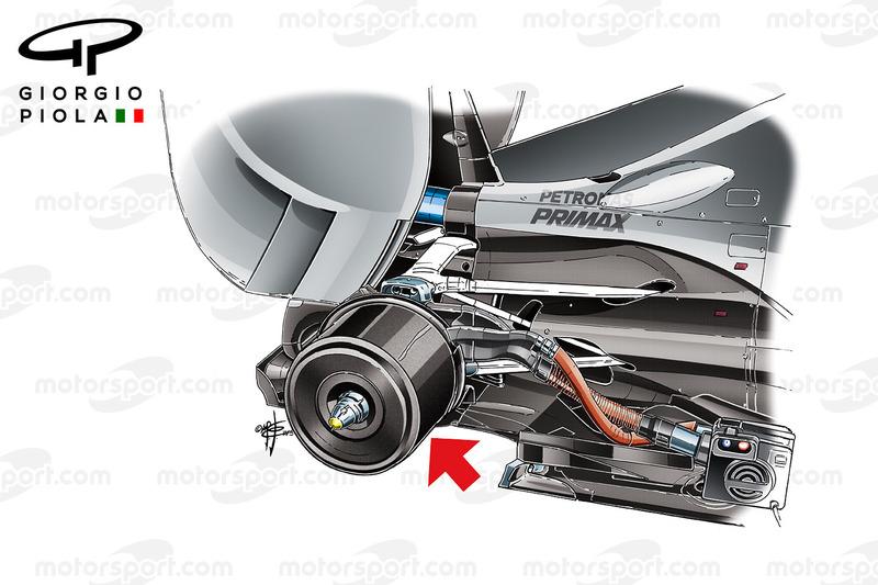 La solution de Mercedes pour chauffer les freins avec une enveloppe en carbone
