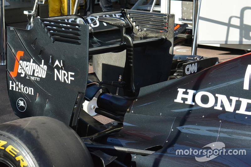 McLaren MP4-31, Heck Detail