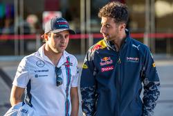 Felipe Massa, Williams y Daniel Ricciardo, Red Bull Racing