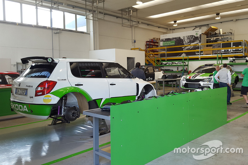 Nuovo quartier generale di Skoda Italia Motorsport