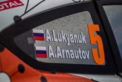 Ford Fiesta R5 Алексея Лукьянюка и Алексея Арнаутова, Ралли Ипр