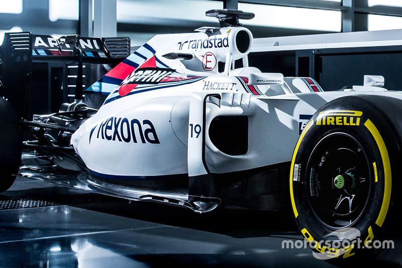 Felipe Massa, Williams FW38 livery detail