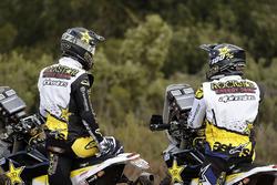 #10 Husqvarna Factory Racing: Pablo Quintanilla, #54 Husqvarna Factory Racing: Andrew Short