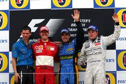 Podium: 1. Fernando Alonso, Renault; 2. Michael Schumacher, Ferrari; 3. Kimi Räikkönen, McLaren