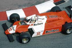 Andrea de Cesaris, Alfa Romeo 182B