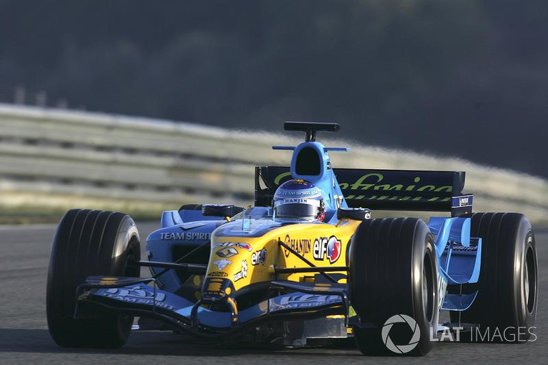 2005 - Essais chez Renault