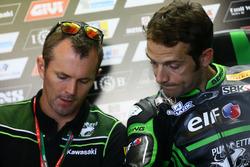 Andrew Pitt et Sylvain Guintoli, Puccetti Racing