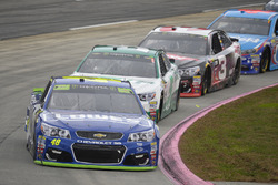 Jimmie Johnson, Hendrick Motorsports Chevrolet, Kasey Kahne, Hendrick Motorsports Chevrolet, Austin Dillon, Richard Childress Racing Chevrolet