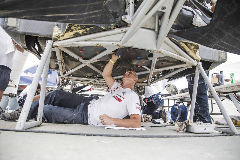 Peugeot Sport у бівуаці