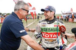Quad winner Ignacio Casale