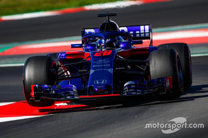#28 Brendon Hartley, Scuderia Toro Rosso
