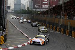 Start, Maro Engel, Mercedes-AMG Team GruppeM Racing, Mercedes - AMG GT3 lider