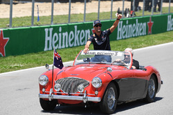 Daniel Ricciardo, Red Bull Racing on the drivers parade