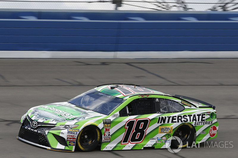 2. Kyle Busch, No. 18 Joe Gibbs Racing Toyota Camry
