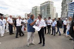 Alejandro Agag, CEO, Formula E, on the grid