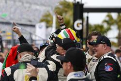 #5 Action Express Racing Cadillac DPi, P: Joao Barbosa, Christian Fittipaldi, Filipe Albuquerque Celebrate Overall Win