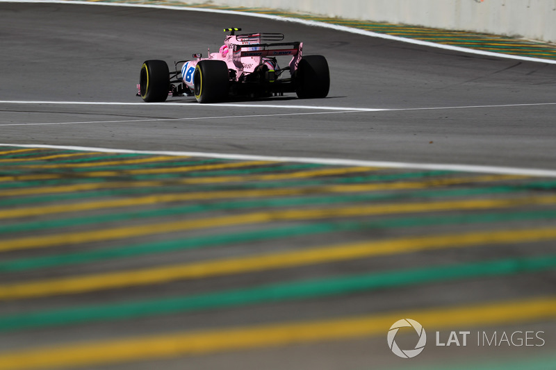 7. Esteban Ocon, Sahara Force India VJM10