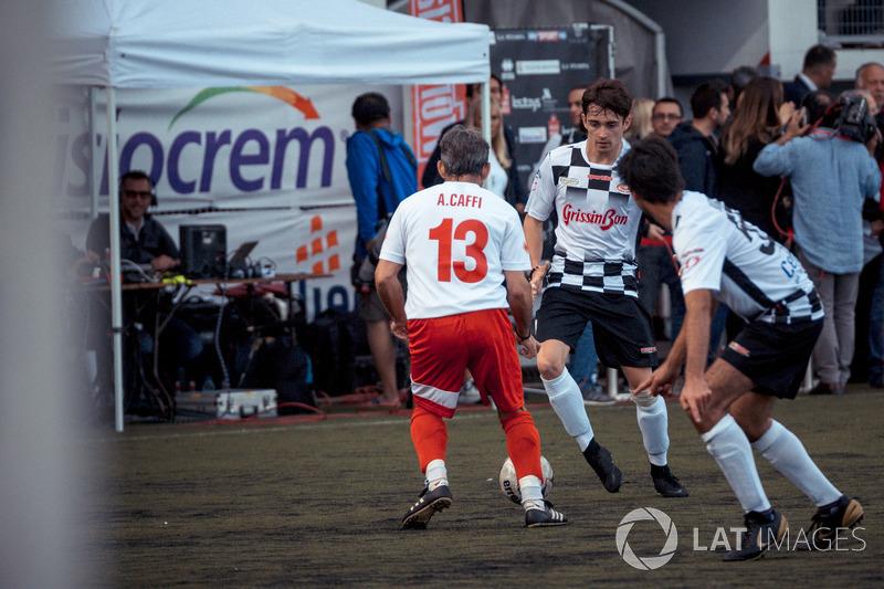 Charles Leclerc, Sauber y Alex Caffi
