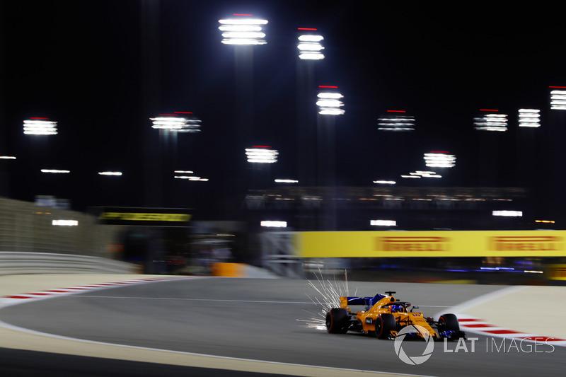 9 місце — Фернандо Алонсо, McLaren. Умовний бал — 11,583