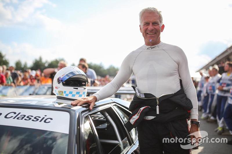 Christian Danner, BMW M1, durante la Legends Parade