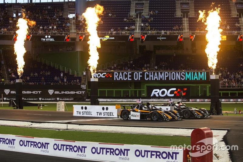 Travis Pastrana, carrera con Alexander Rossi, conduciendo el Radical SR3 RSX