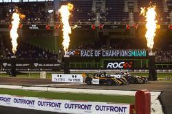 Travis Pastrana, races Alexander Rossi, driving the Radical SR3 RSX