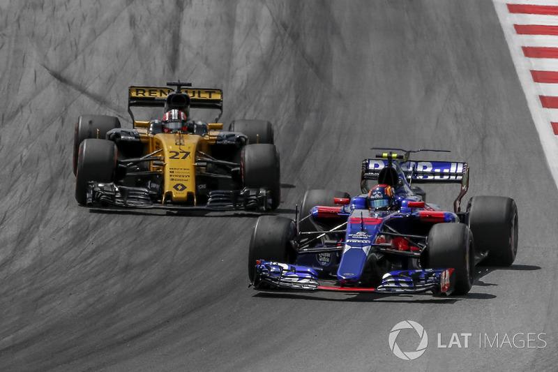 Ніко Хюлькенберг, Renault Sport F1 Team RS17,Карлос Сайнс-молодший, Scuderia Toro Rosso STR12