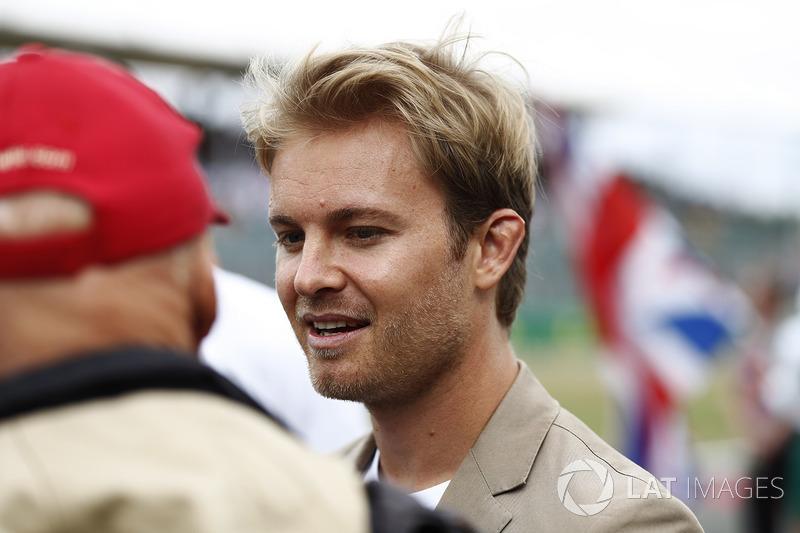Campeón del mundo Nico Rosberg