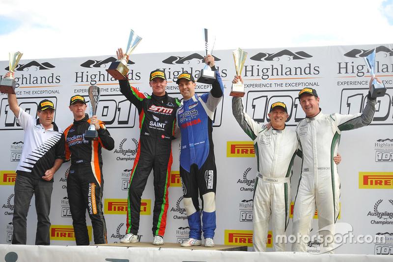 Podium: race winners1. Craig Baird, Michael Almond, 2. Tony Quinn, Greg Murphy, 3. George Miedecke, Andrew Miedecke