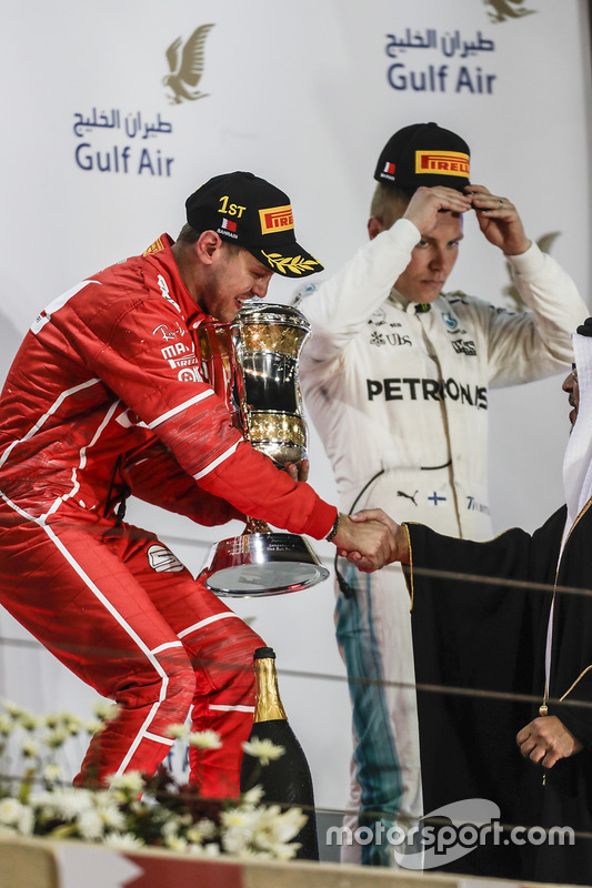 Sebastian Vettel, Ferrari, race winner