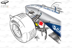 Williams FW24 bargeboard