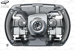 Ferrari F150th Italia steering wheel
