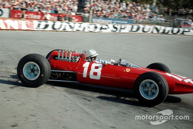 1964-1965: Ferrari 1512 (три подиума, титул в КК в 1964-м, 4-е место в КК в 1965-м)