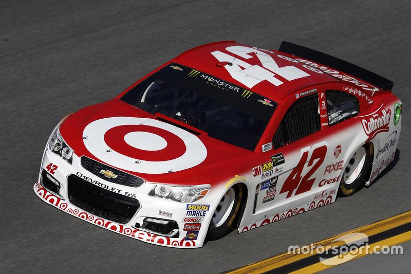#42: Kyle Larson, Chip Ganassi Racing, Chevrolet