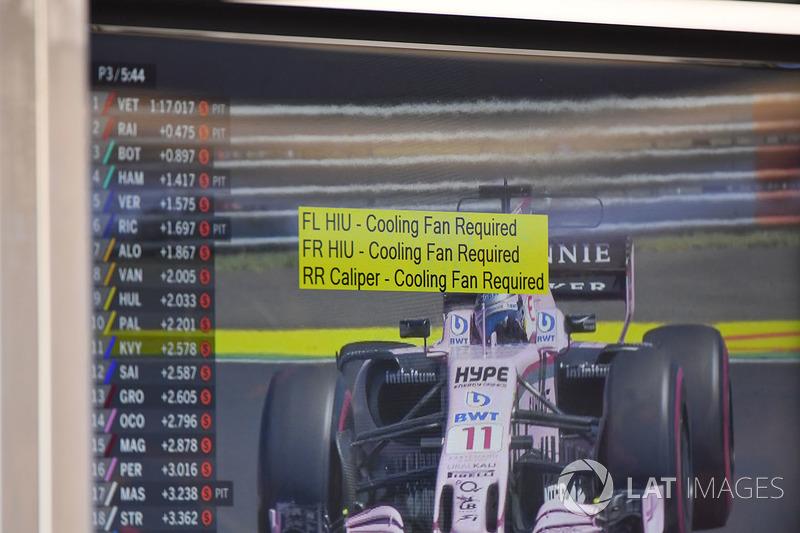 Інструкція у боксах Red Bull Racing RB13