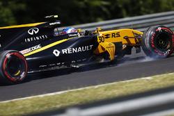 После аварии: Джолион Палмер, Renault Sport F1 RS17