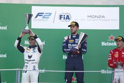 Podium: Sergio Sette Camara, MP Motorsport