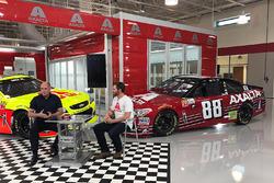 Paint-Scheme für das letzte Rennen von Dale Earnhardt Jr., Hendrick Motorsports Chevrolet
