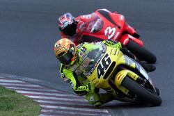 Ванлентино Россі, Honda, Макс Б'яджі, Yamaha