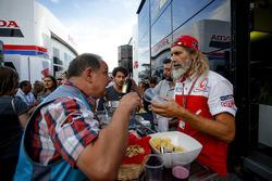 Alex Ghini, responsable hospitality Pramac Racing