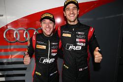 Polesitters #17 Team WRT, Audi R8 LMS: Stuart Leonard, Robin Frijns