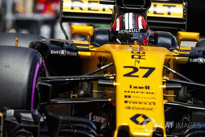 18 місце — Ніко Хюлькенберг, Renault. Умовний бал — 3,568